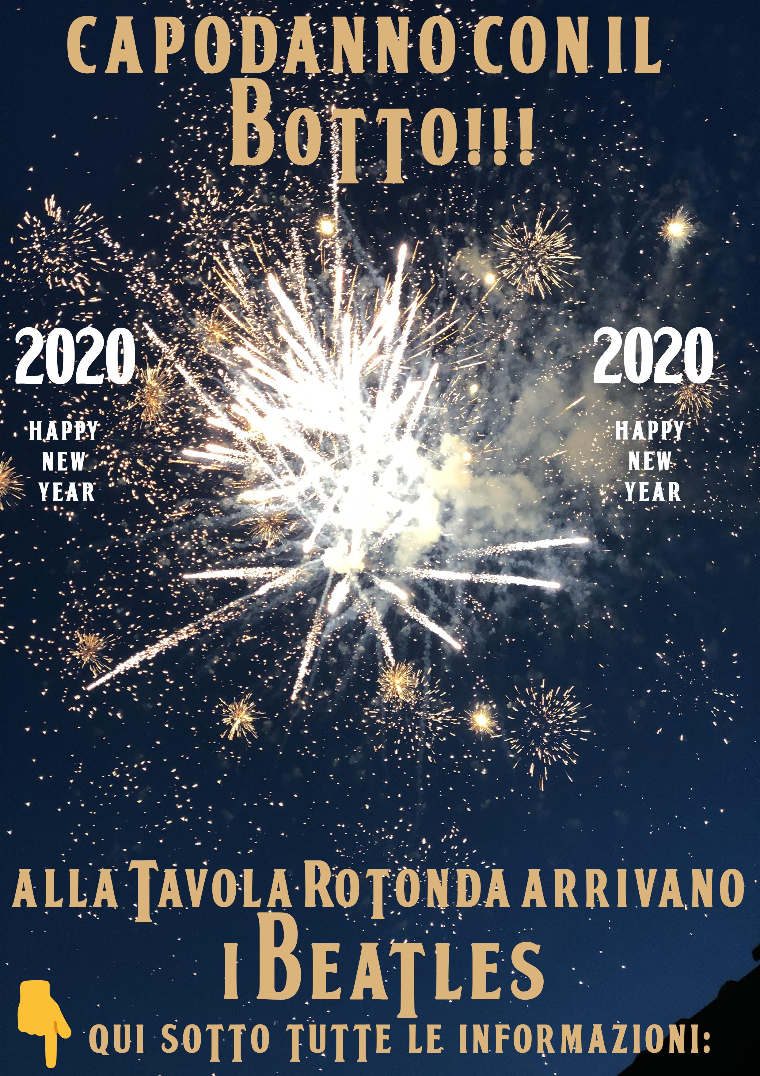 CAPODANNO 2020 CON IL BOTTO!