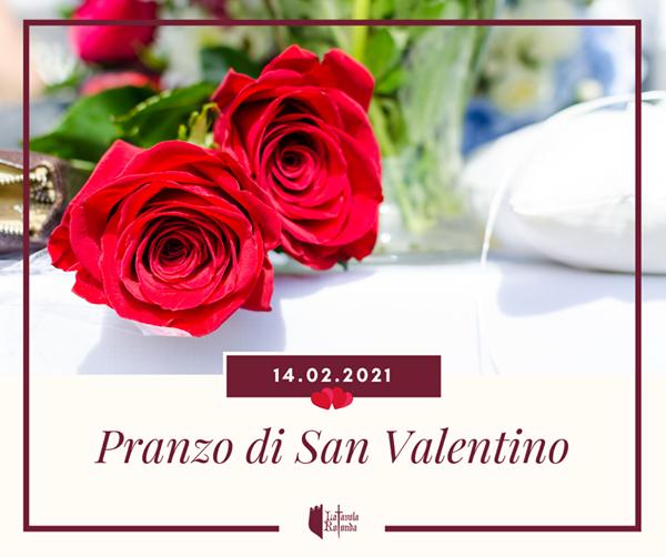 💞 PRANZO DI SAN VALENTINO AL CASTELLO 🏰